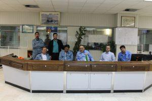 بازدید نوروزی مدیر عامل شرکت افق تأمین انرژی طوس از مجموعه نیروگاه طوس