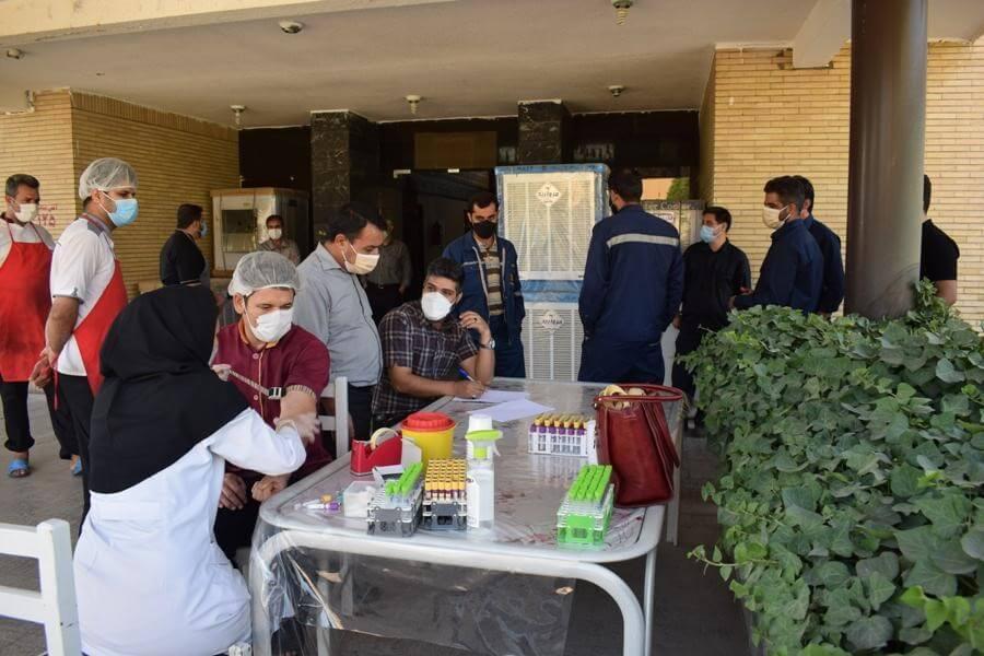 معاینات ادواری پایش وضعیت سلامتی کارکنان در نیروگاه طوس انجام شد